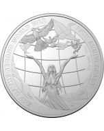 2020 1 oz Australia 75th Anniversary of the End of World War II .999 Silver Proof Coin