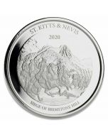 2020 1 oz St. Kitts & Nevis The Siege of Brimstone Hill .999 Silver Coin BU