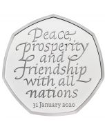 2020 8 gram Great Britain Withdrawal from the European Union Cupro-nickel Coin