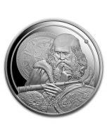 2021 1 oz Niue Icons of Inspiration - Galileo .999 Silver Proof Coin