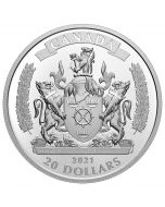 2021 1oz Canada Commorating Black History: The Black Loyalists .9999 Silver Proof Coin