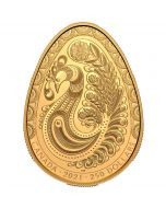 2021 58.5g Canada Pysanka .9999 Gold Proof Coin