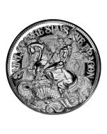 2021 Chad 2oz St George Slays The Dragon .999 Silver Proof Coin