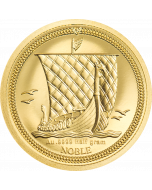 2020 0.5g Isle of Man Noble .9999 Gold Proof Coin