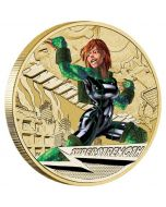 Young Collectors Super Powers Super Strength 2014 $1 Coin in Card