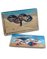 2014 1/2 oz Singapore Marine Life 4-in-1 .999 Silver Proof 4 Coin Set