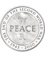 2020 28.28 gram Great Britain 75th Anniversary of the End of the World War II Cupro-nickel Coin BU