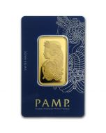 1 oz Pamp Suisse - Lady Fortuna with Veriscan .9999 Gold Bar