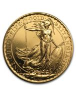 1987 1 oz Great Britain Britannia .9167 Gold Coin - First year of release