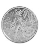 2oz Privateer Series Ultra High Relief .999 Silver Round - The Captain