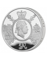 2020 56.56g Great Britain A Celebration of the Reign of George III .925 Silver Proof Piedfort Coin