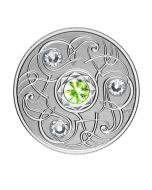 2020 1/4 oz Canada Birthstones: August .9999 Silver Reverse Proof Coin