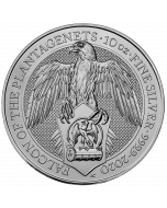 2020 10 oz Great Britain The Queen's Beasts - The Falcon of the Plantagenets .9999 Silver Coin