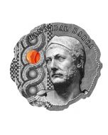 2020 16.7 gram Republic of Cameroon Hannibal Barca - The Greatest Leader Of The Ancient World .999 Silver Antique Coin