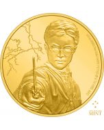 2020 1/4 oz Niue Harry Potter - Harry Potter .9999 Gold Proof Coin