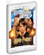 2020 1 oz Niue Harry Potter and the Sorcerer's Stone 999 Silver Proof Coin