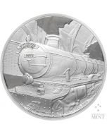 2020 1 oz Niue Harry Potter Hogwarts Express .999 Silver Proof Coin