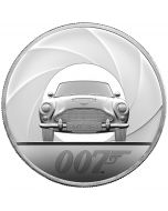 2020 5 oz Great Britain Special Issue DB5 James Bond 007 .999 Silver Proof Coin