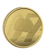 2020 1/4 oz Great Britain James Bond 2 Pay Attention 007 .9999 Gold Proof Coin