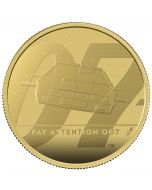2020 2 oz Great Britain James Bond 2 Pay Attention 007 .9999 Gold Proof Coin