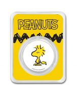 2021 1oz Peanuts - Woodstock .999 Silver Colorized Round