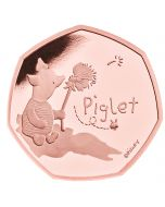 2020 15.5 gram Great Britain Winnie The Pooh- Piglet .9167 Gold Proof Coin