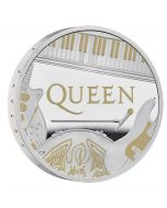 2020 1 oz Great Britain Music Legends - Queen .999 Silver Proof Coin