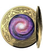 2021 1oz Australia Earth & Beyond - Milky Way .9999 Gold Proof Coin