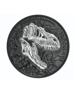2021 1oz Canada Discovering Dinosaurs : Reaper of Death .9999 Silver Proof Coin