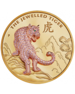2020 10 oz Perth The Jewelled Tiger .9999 Gold Proof Coin