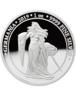 2019 1 oz Germania .9999 Silver Proof Coin
