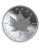 2020 2 oz Canada Pulsating Maple Leaf 9999 Silver Proof Coin