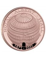 2021 39.94g Great Britain The 150th Anniversary of The Royal Albert Hall .9167 Gold Proof Coin