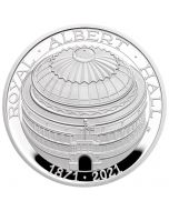 2021 28.28g Great Britain The 150th Anniversary of The Royal Albert Hall .925 Silver Proof Coin