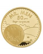 2021 1oz Great Britain The 50th Anniversary of  Mr Men Little Miss- Mr. Happy .9999 Gold Proof Coin (Coin 1)