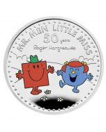 2021 1oz Great Britain The 50th Anniversary of  Mr Men Little Miss - Mr Strong and Little Miss Giggles .999 Silver Proof Coin (Coin 3)