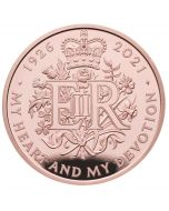 2021 39.94g Great Britain The 95th Birthday of Her Majesty The Queen .9167 Gold Proof Coin