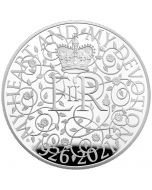 2021 5 oz Great Britain The 95th Birthday of Her Majesty The Queen .999 Silver Proof Coin