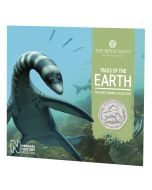2021 8g Great Britain The Mary Anning Collection- Plesiosaurus Cupro-Nickel Coin
