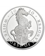 2020 1 Kg Great Britain Queen's Beasts - The White Horse of Hanover .999 Silver Proof Coin
