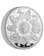 2021 10oz Great Britain Queen's Beasts Completer .999 Silver Proof Coin