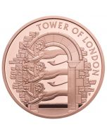 2020 39.94 gram Great Britain The Tower of London - The Royal Menagerie .9167 Gold Proof Coin