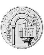 2020 28.28 gram Great Britain The Tower of London - The White Tower Cupro-Nickel Coin BU