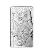 2021 10 oz Great Britain The Great Engravers Collection : Una And The Lion .9999 Silver Bar