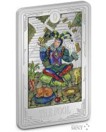 2021 1oz Niue Tarot Cards - The Fools .999 Silver Proof Coin
