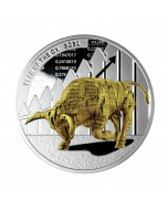 2021 1 oz Cameroon Year of the Ox - Time to Win .999 Silver Proof Coin