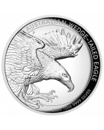 2020 10oz Australia Wedge-Tailed Eagle .9999 Silver Proof High Relief Coin