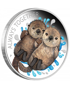 2020 1/2 oz Tuvalu Always Together .9999 Silver Proof Coin