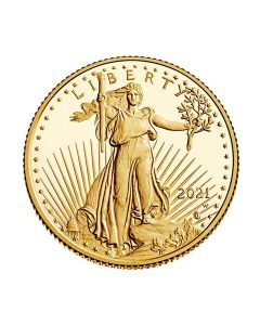 2021-W 1/4 America Eagle .9167 Gold Proof Coin (Type 2)