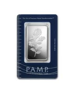 1 oz Pamp Suisse - Rosa .999 Silver Bar (In Assay)